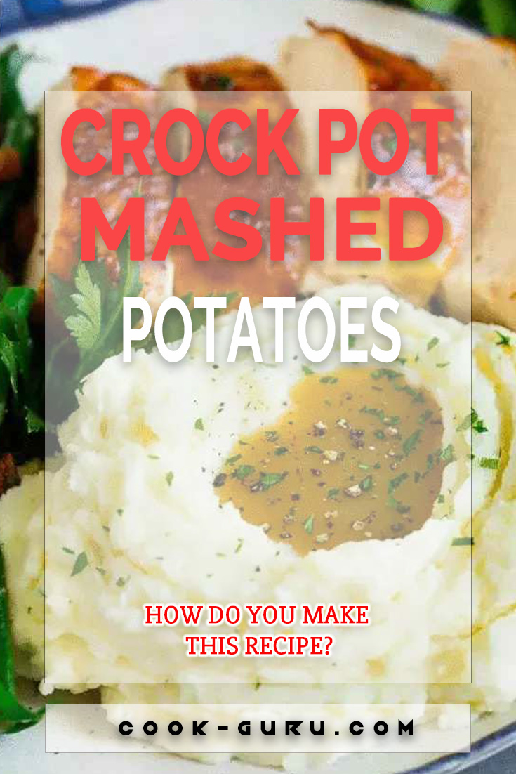 These crock pot mashed potatoes are diced Russet potatoes that are simmered in the slow cooker, then mashed with butter and cream cheese for a decadent and delicious side dish. Making mashed potatoes in the slow cooker is so easy, you'll never use the stove top method again!