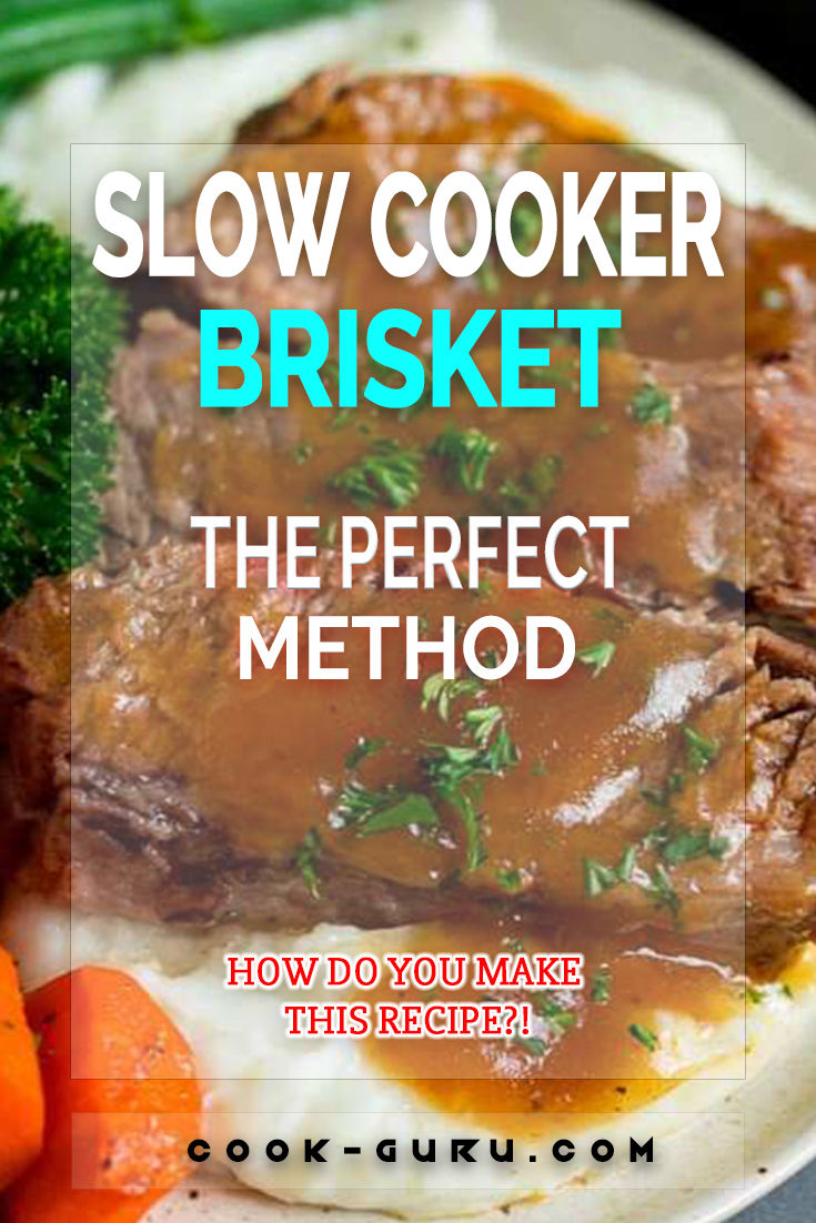 This slow cooker brisket is beef simmered with vegetables and seasonings in the crockpot until it is fall-apart tender. A simple yet satisfying comfort food classic that's great for feeding a crowd!